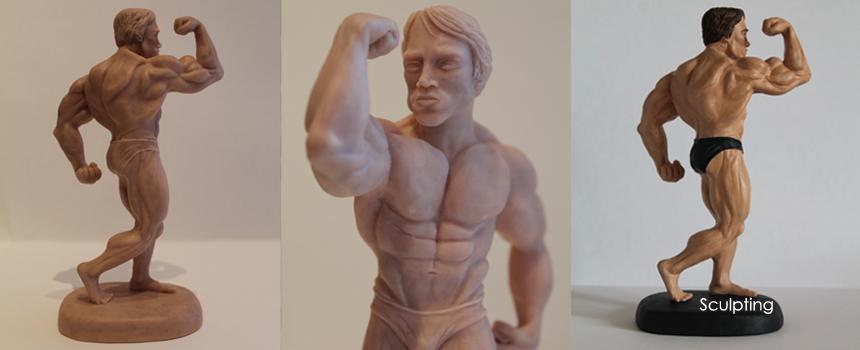 Bodybuilder Model