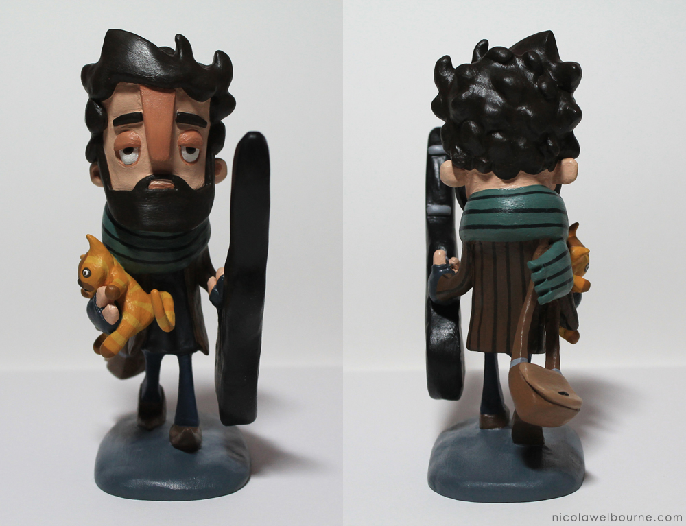 Inside Llewyn Davis Model Turnaround