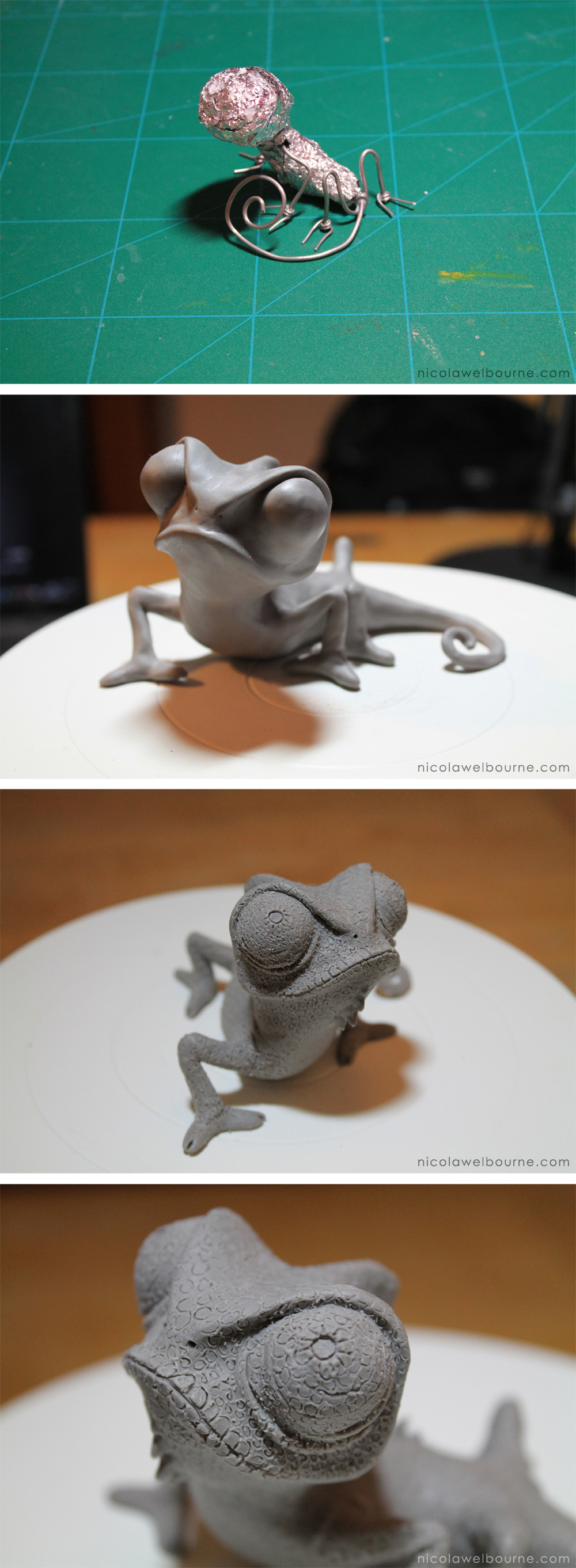 Chameleon Model Making