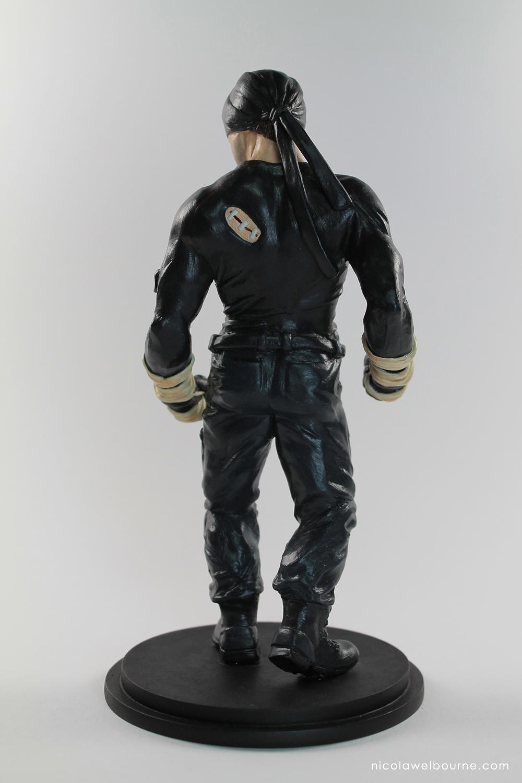 Daredevil Model Back