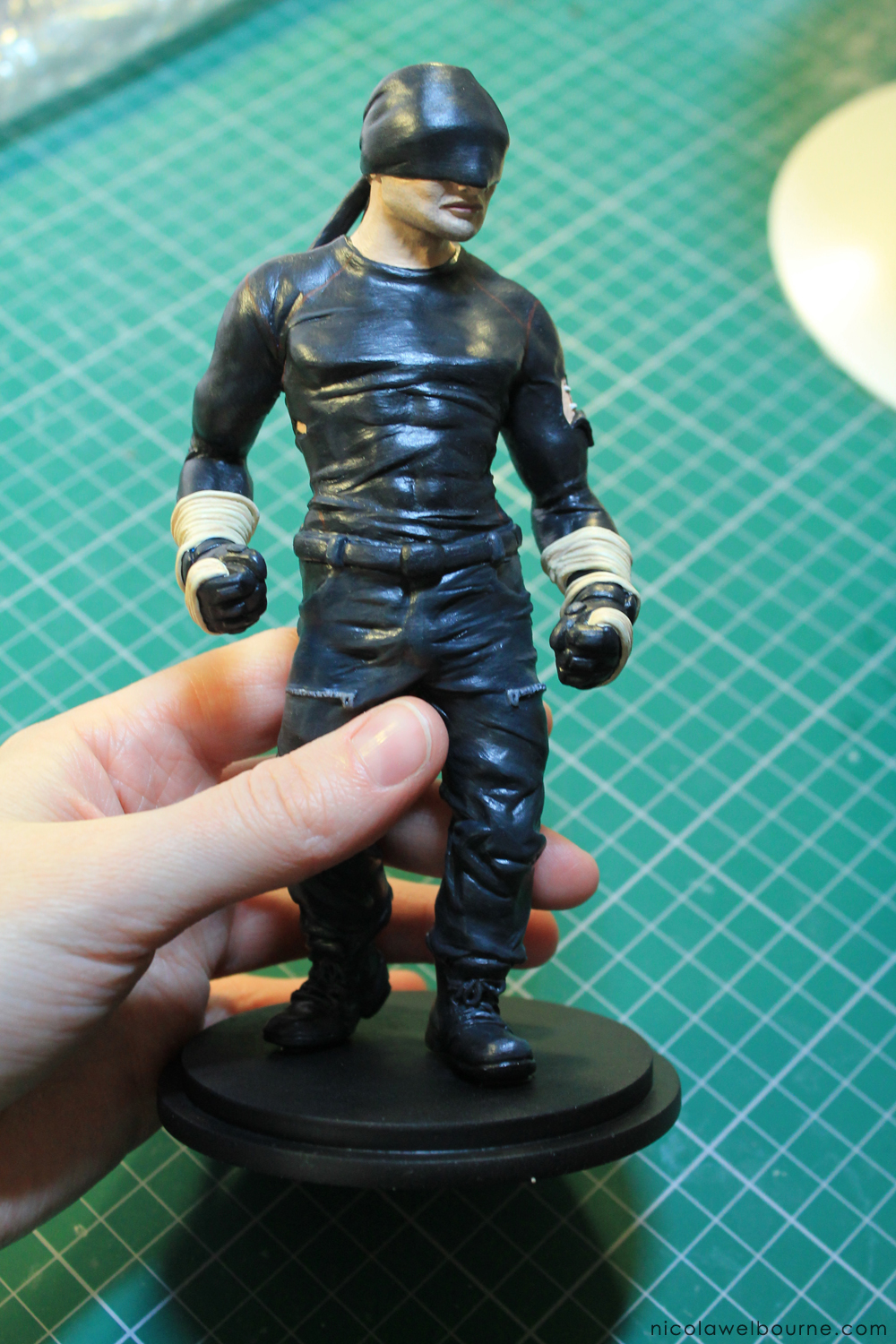 Daredevil Model Making Painted