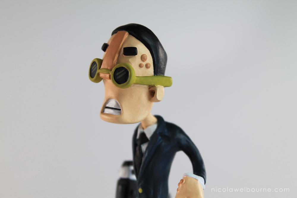 A4man Thin Man Face