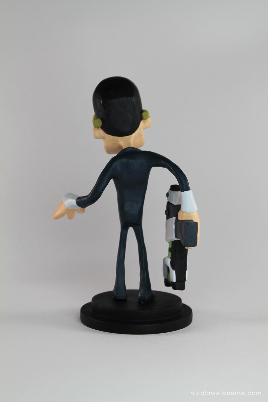 A4man Thin Man Model Back
