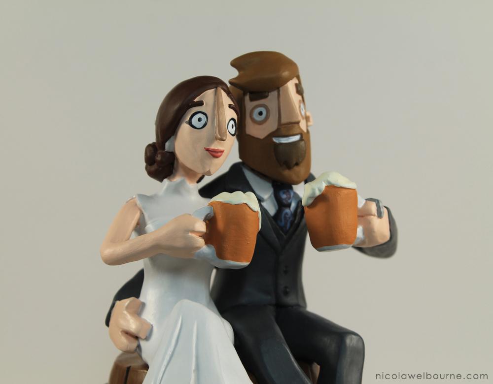 Wedding Topper Merry 003