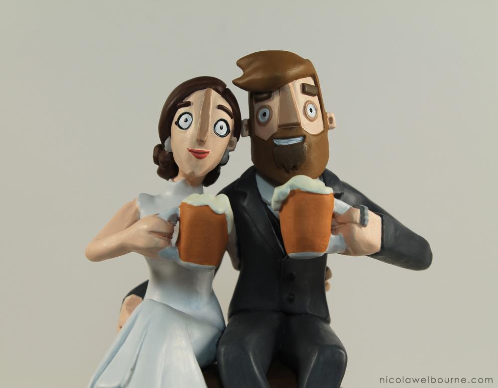 Wedding Topper Merry 005