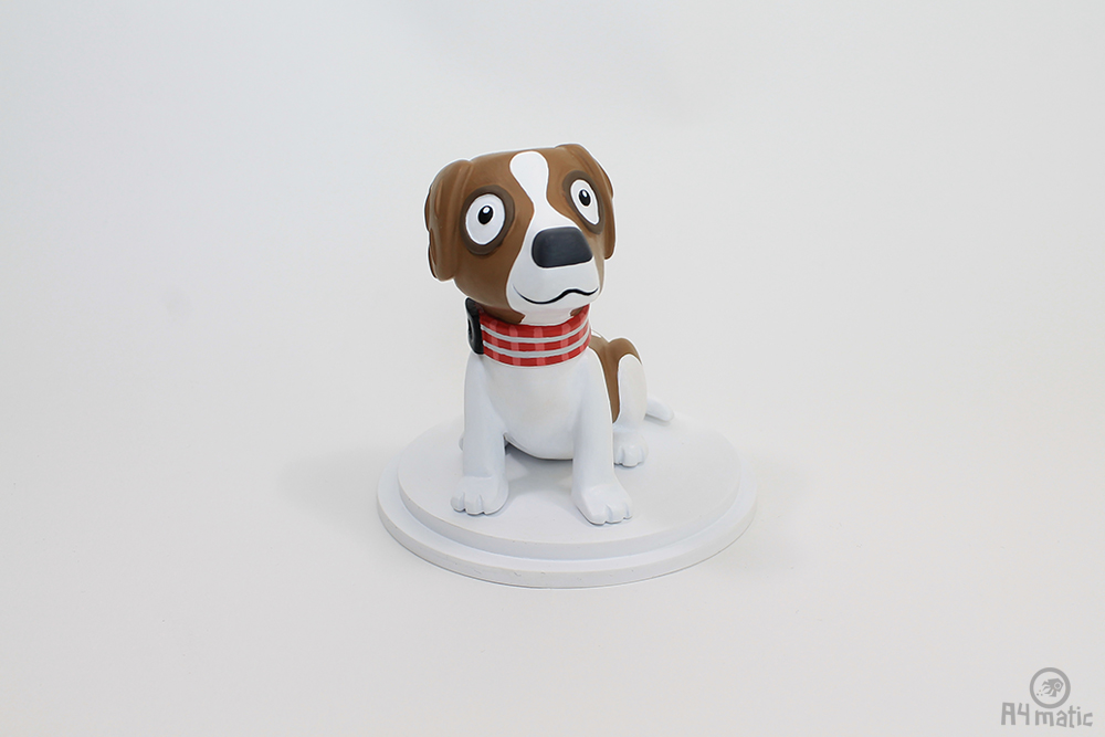 A4matic Dog Model Painted 0002