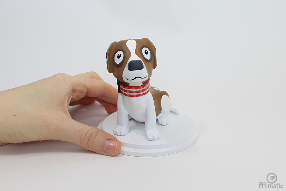 A4matic Dog Model Painted 012